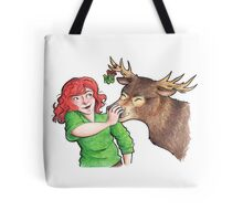 Christmas Fun with Lily and Prongs Tote Bag