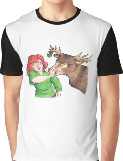 Christmas Fun with Lily and Prongs Graphic T-Shirt