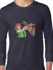 Christmas Fun with Lily and Prongs Long Sleeve T-Shirt