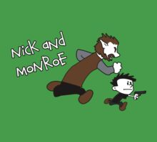 Nick And Monroe by Paulychilds