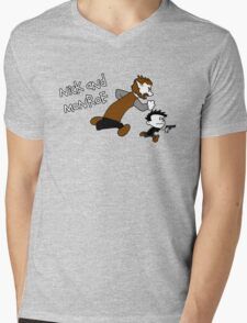 Nick And Monroe Mens V-Neck T-Shirt