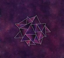 Galaxy Triangles by hannahison