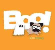 Tugg the Pug Boo! (White) by boodapug