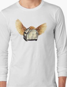 Flying Toasters Long Sleeve T-Shirt