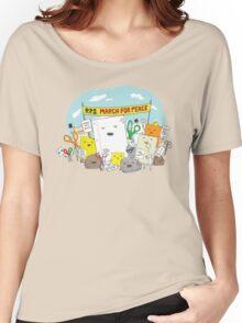 Paper Hugs Rock Women's Relaxed Fit T-Shirt