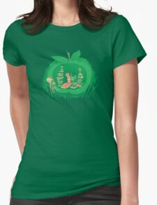 The Bookworm's Haven Womens Fitted T-Shirt