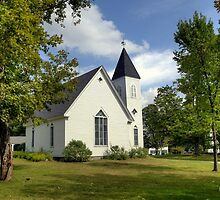 Country Chapel by Monica M. Scanlan