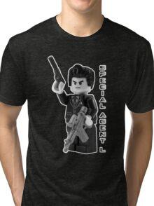 Special Agent L Tri-blend T-Shirt