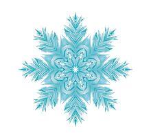 Snowflake 002 Photographic Print
