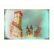 Prague in Spring Art Print