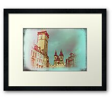 Prague in Spring Framed Print