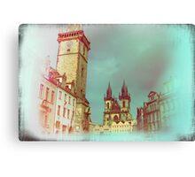 Prague in Spring Canvas Print