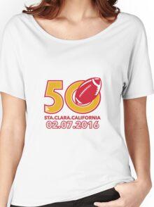 50 Pro Football Championship Santa Clara Women's Relaxed Fit T-Shirt