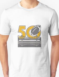 Pro Football Championship 50 Ball Bridge Unisex T-Shirt