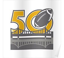 Pro Football Championship 50 Ball Bridge Poster