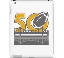 Pro Football Championship 50 Ball Bridge iPad Case/Skin
