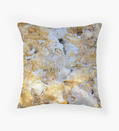Rock Apple Cobbler With Sugar Glaze Icing Throw Pillow