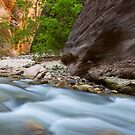 Zion Narrows by Bryan  Keil