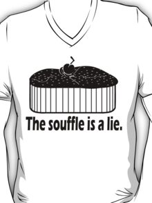 Doctor Who Portal the Souffle is a lie black T-Shirt