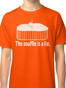 Doctor Who Portal the Souffle is a lie white Classic T-Shirt
