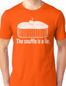 Doctor Who Portal the Souffle is a lie white Unisex T-Shirt