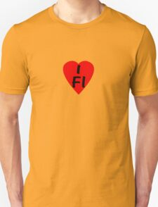 I Love Finland - Country Code FI T-Shirt & Sticker Unisex T-Shirt
