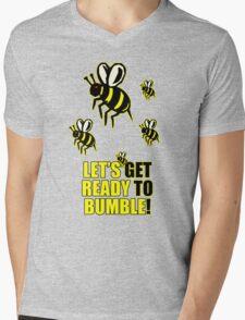 Ready to Bumble Mens V-Neck T-Shirt