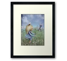 moments of innocence Framed Print