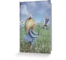moments of innocence Greeting Card