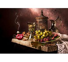 Still Life with Fruit & Kings Goblet Photographic Print