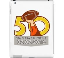 Pro Football Championship 50 2016 iPad Case/Skin