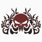 Tribal Skull  by VinnieIannone