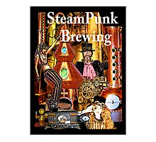 SteamPunk Brewing Photographic Print