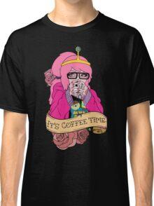 Adventure Time - It's Coffee Time (Princess Bubblegum) Classic T-Shirt