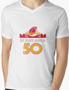 50 San Francisco Pro Football Championship Mens V-Neck T-Shirt
