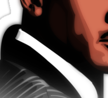 Michael Jordan Vector and Quote Sticker