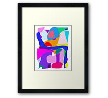 Robot Precision Present History Genesis Pure Framed Print