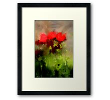 A handful of roses Framed Print