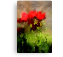 A handful of roses Canvas Print