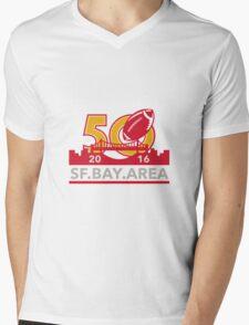 50 Pro Football Championship SF Bay Area 2016 Mens V-Neck T-Shirt