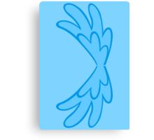 Rainbow Dash Wings [for backside!] Canvas Print