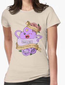 Adventure Time - You Can't Handle These Lumps Womens Fitted T-Shirt