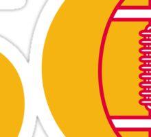 Pro Football Championship 50 Ball Sticker