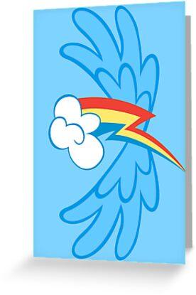 Rainbow Dash Cutie Wings by Eniac
