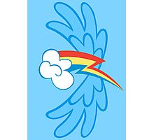 Rainbow Dash Cutie Wings Photographic Print