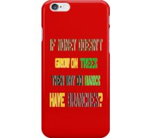 ㋡♥ټRandom Funny Bank Joke iPhone & iPad Casesټ♥㋡ iPhone Case/Skin