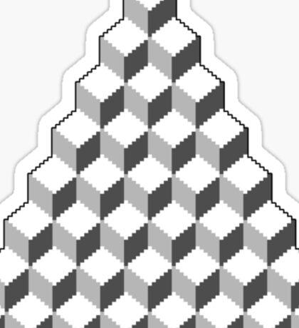 Qbert - Blank Map Sticker