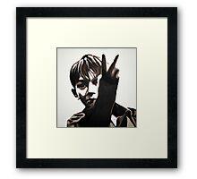 Kes - Billy Framed Print