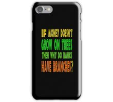 ㋡♥ټRandom Funny Bank Joke iPhone & iPad Casesټ♥㋡ iPhone Case/Skin