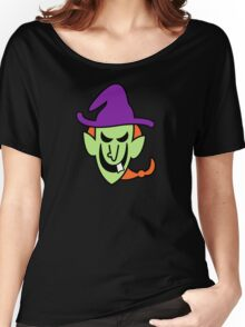 Naughty Halloween Witch Women's Relaxed Fit T-Shirt